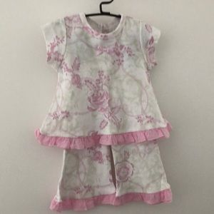 Girls 2 piece Baby Nay set